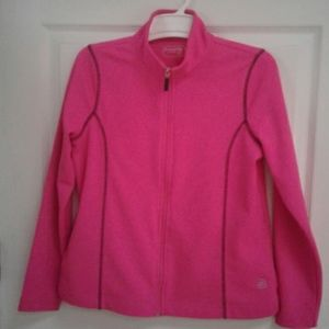 Be Inspired Pink Athletic Zip Jacket PM